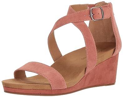 fec4c664cb8e Lucky Brand Women s Kenadee Wedge Sandal