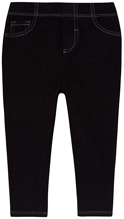 0d7e4906c levi s Baby-Girls Infant 9527 Essential Knit Legging, Black, 24 Months:  Amazon.in: Baby