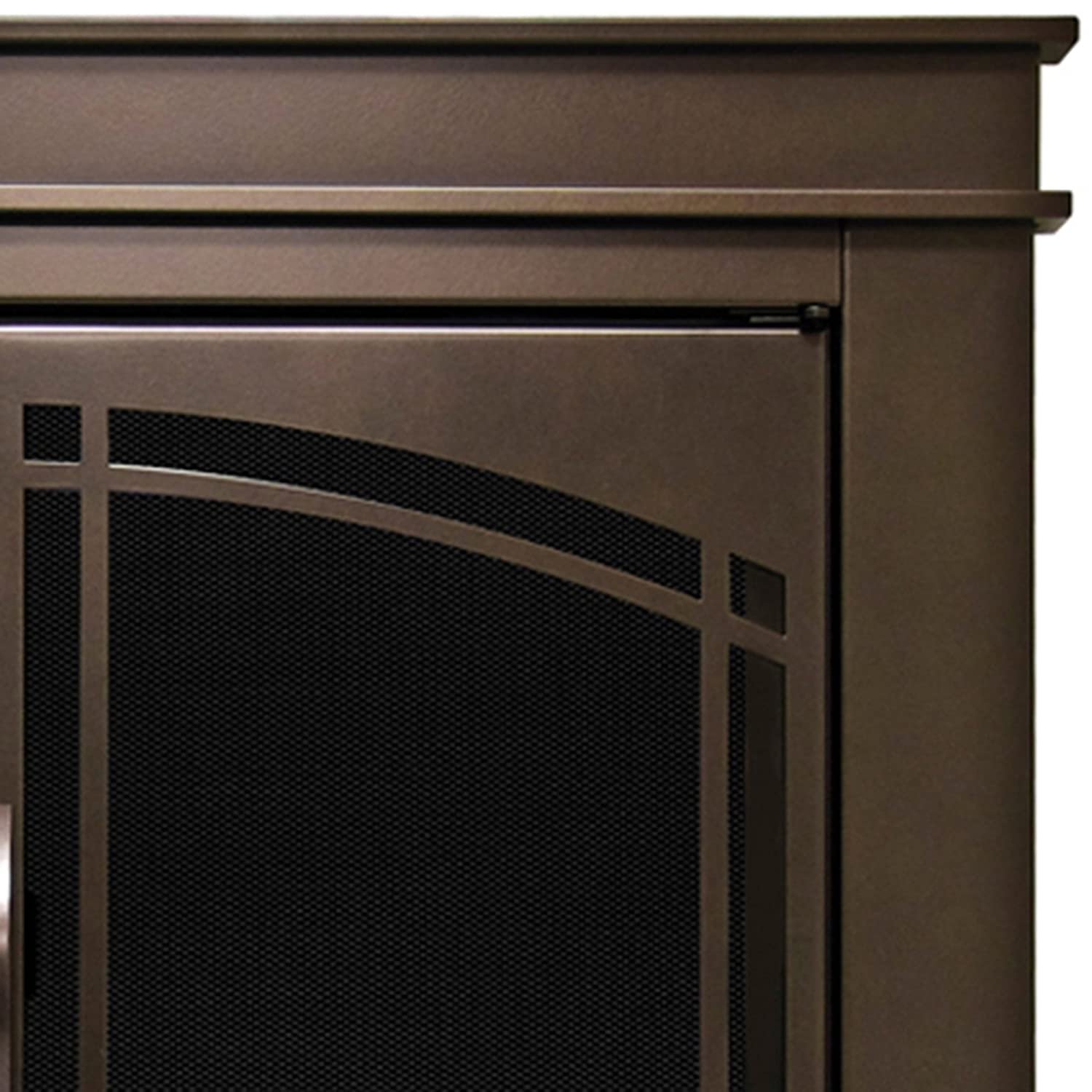 amazon com pleasant hearth fn 5702 fenwick fireplace glass door
