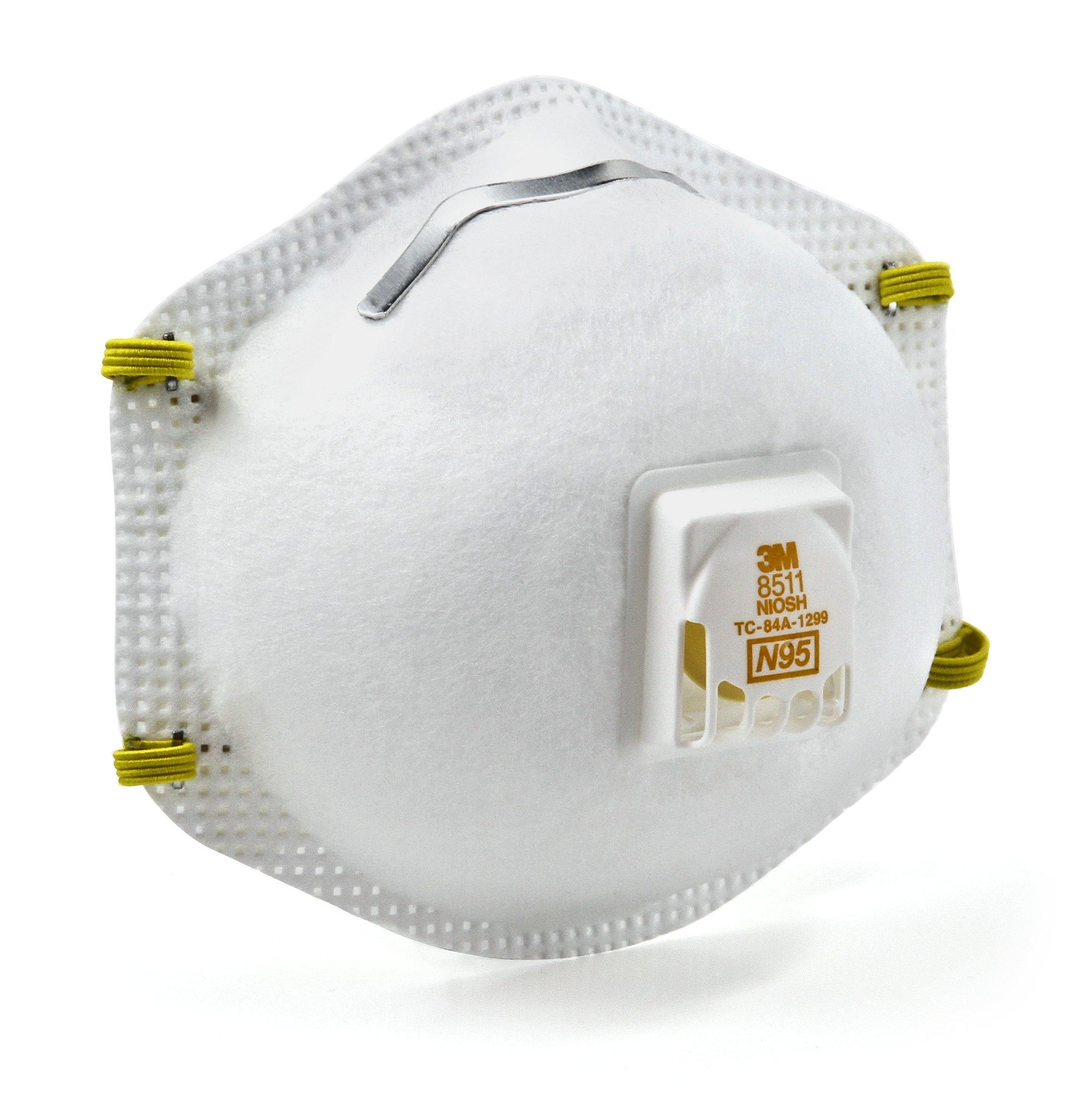 3M Valved Respirator 3