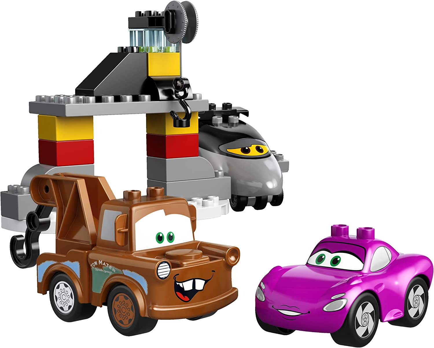 1x Lego Duplo Vehicle Truck Chassis B-Stock Chassis Neu-Dunkel Grey 1326c01