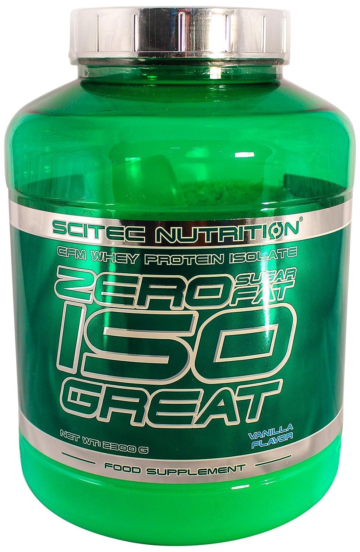Scitec Nutrition Zero Isogreat proteína cero azúcar/cero grasa vainilla 2300 g: Amazon.es: Salud y cuidado personal