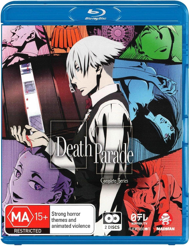 Death Parade Complete Series Edizione: Australia Italia Blu ...