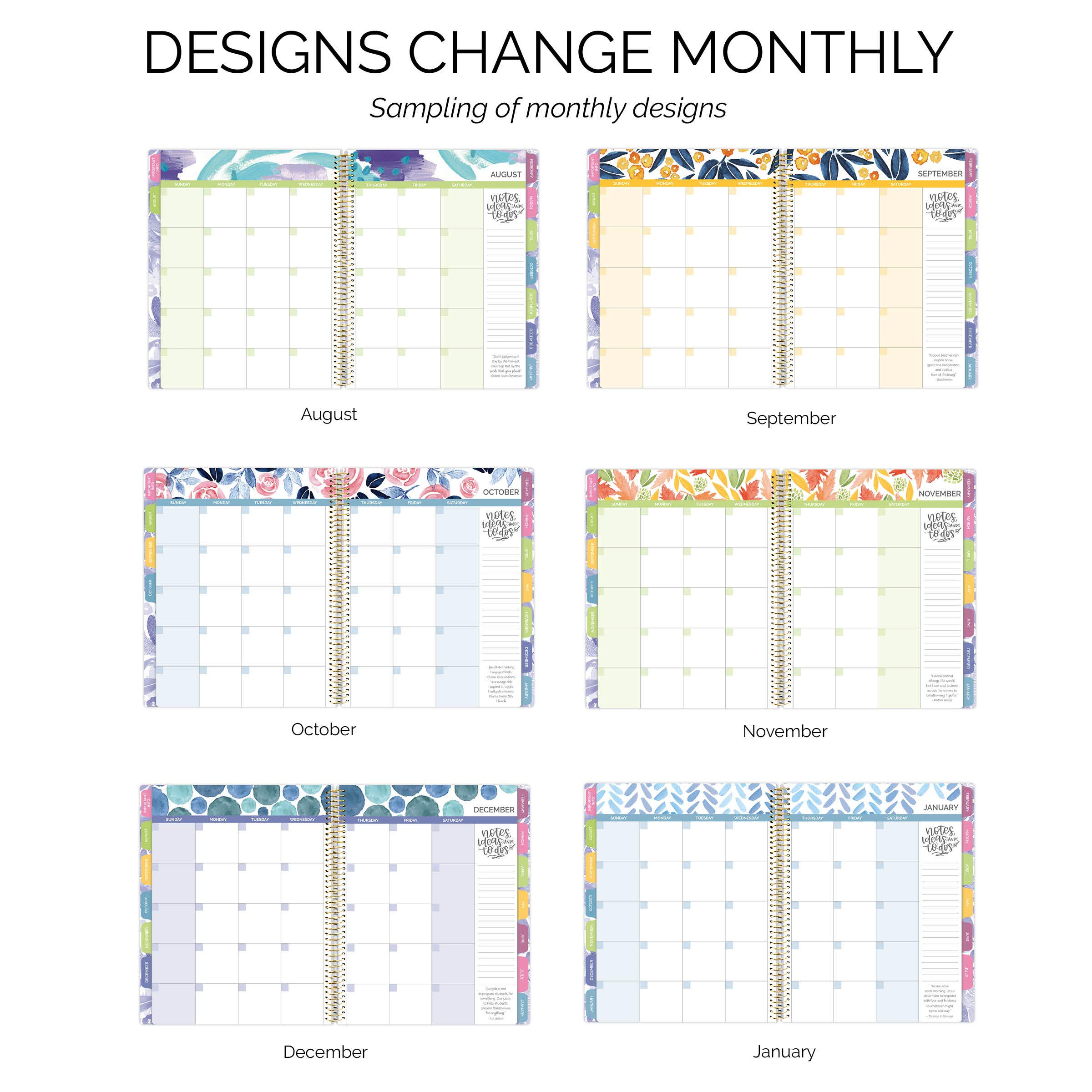bloom daily planners undated academic year teacher planner lesson