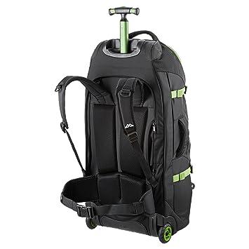 c5f393ada Kathmandu Hybrid 70L Backpack Harness Wheeled Luggage Trolley v3-70LTR