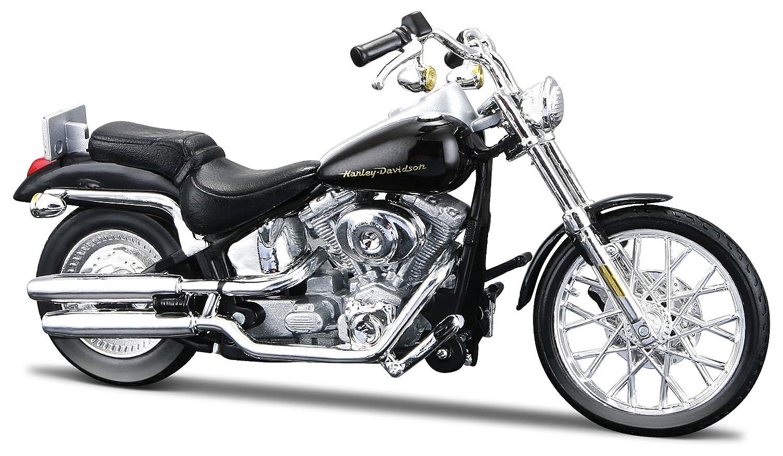 Harley Davidson Deuce >> 2000 Harley Davidson Fxstd Softail Deuce 1 18 Scale Series 31
