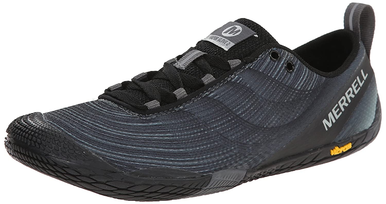 Merrell Women's Vapor Glove 2 Barefoot Trail Running Shoe B00RDL3ZGK 10 B(M) US|Black/Castle Rock
