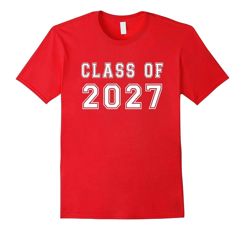 Class Of 2027 High School Graduation Date Cool Cute T-Shirt-Vaci