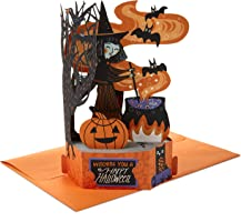 Hallmark Paper Wonder Pop Up Halloween Card (Pumpkin Patch)