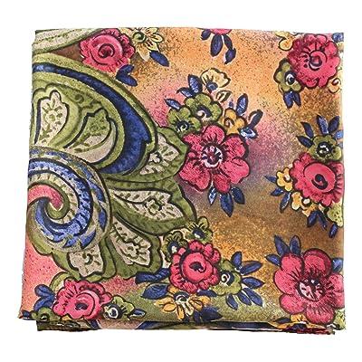 Deresina Headwear Pañuelo de cabeza todos los días - 2 por 15Eur (502 Beige Mink Floral): Ropa y accesorios
