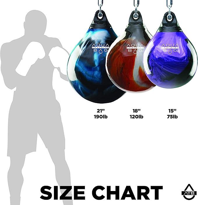 "Aqua Training Bag 18"" 120 Pound Heavy Punching Bag (Power Punch Pink) : Sports & Outdoors - Amazon.com"