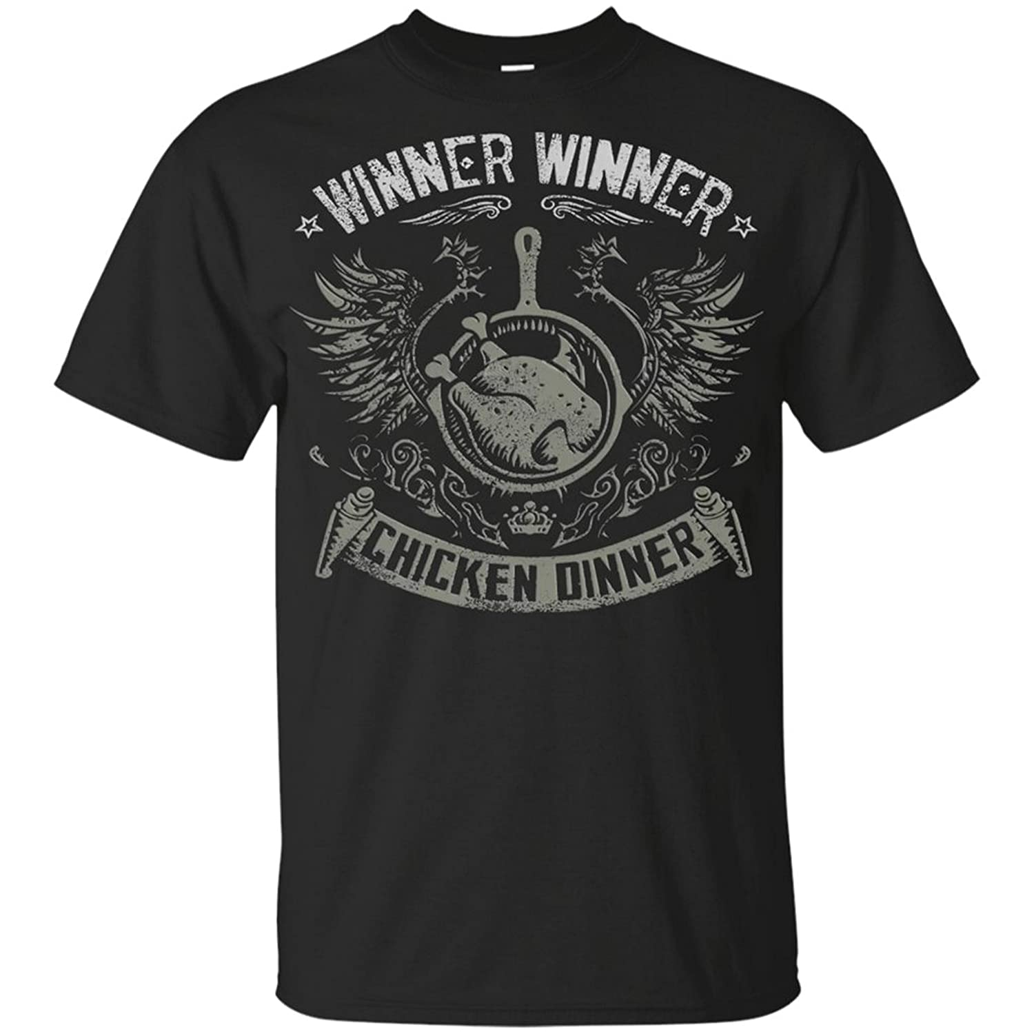 Winner Winner Chicken Dinner Pubg Mens Cotton T-Shirt