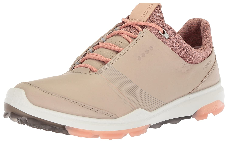 ECCO Women's Biom Hybrid 3 Gore-Tex Golf Shoe B074H9DBJ2 40 M EU (9-9.5 US) Oyster/Muted Clay