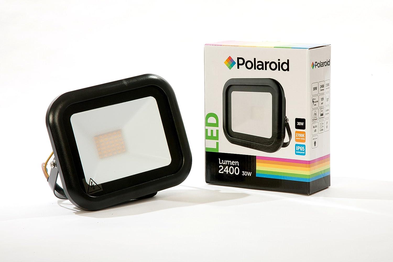 Polaroid - Foco LED (30 W, 2400 lm, 2700 K, luz blanca cálida, IP65): Amazon.es: Iluminación