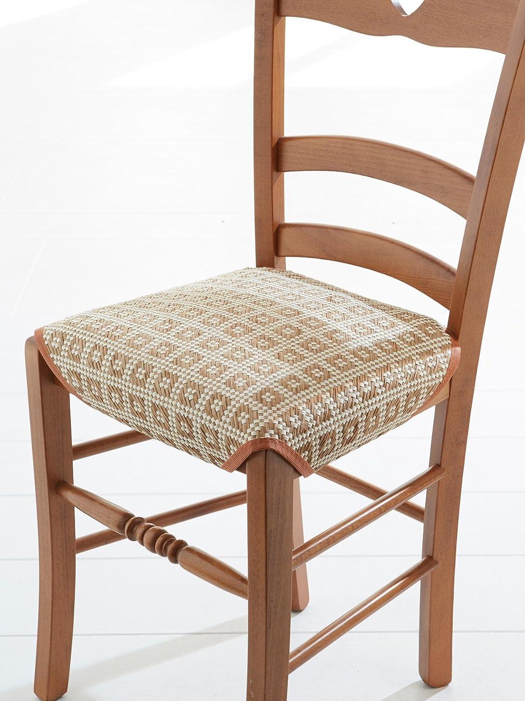 Couleurs & prix - Galette DE Chaise - Aspect Paille - 5X5