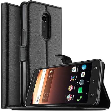 Funda Alcatel One Touch A3 XL, KuGi Slim Flip Cover Carcasa ...