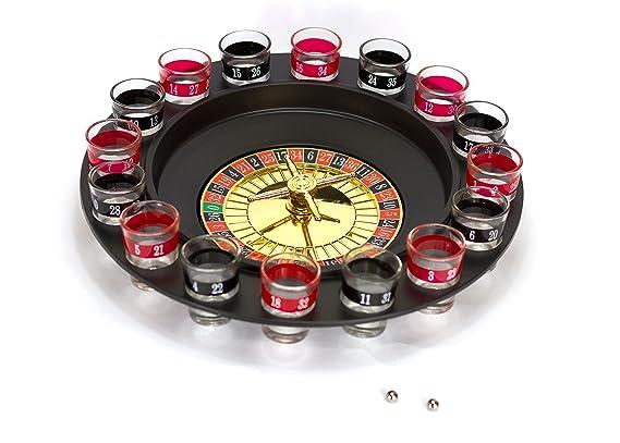 Roulette Trinkspiel Partyspiel Casino Party-Feier-Saufspiel Partygag Trinkspiele