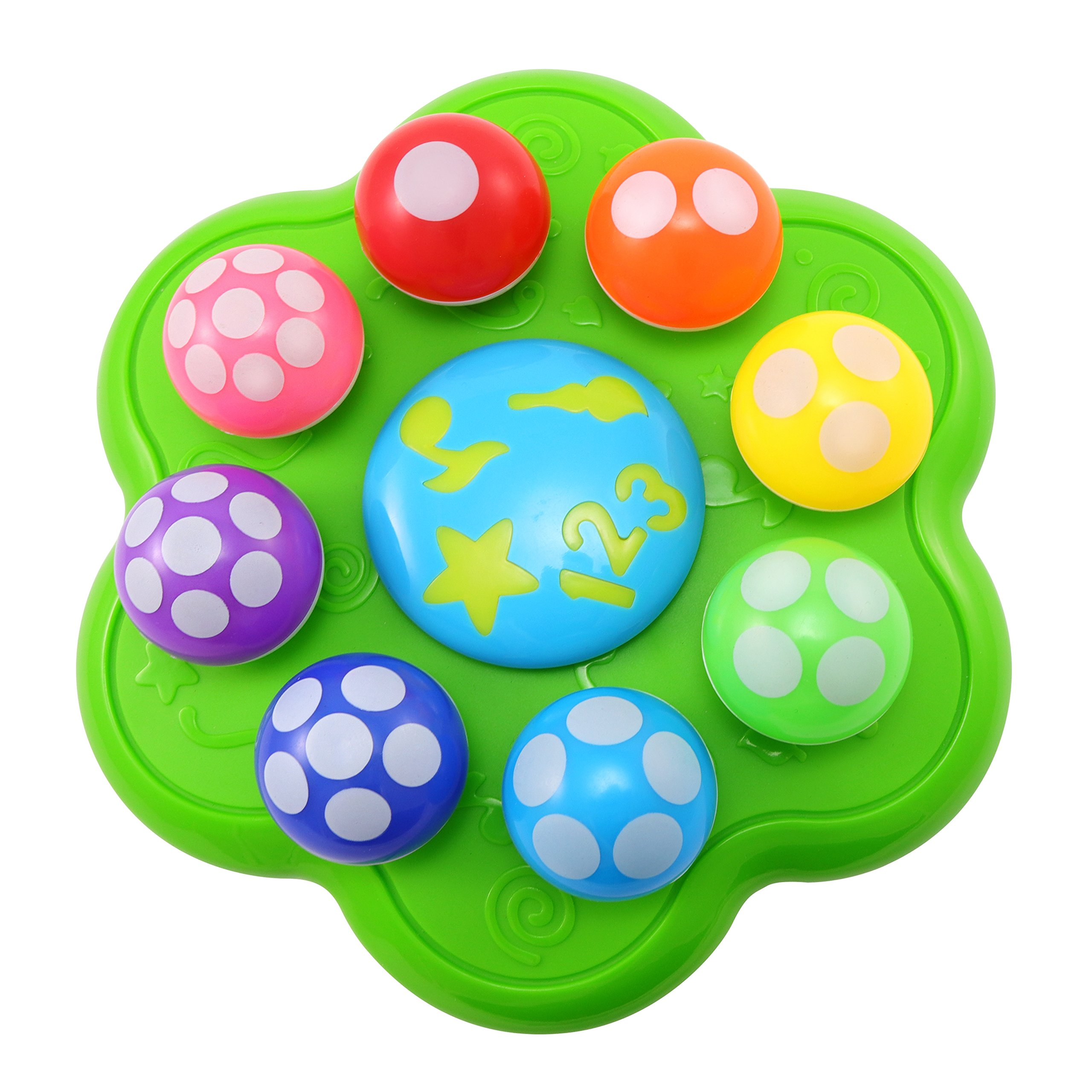 BEST LEARNING Mushroom Garden - Interactive Educational Light-Up Toddler Toys for 1 to 3 Years Old Infants & Toddlers - Colors, Numbers, Games & Music for Kids by BEST LEARNING (Image #4)