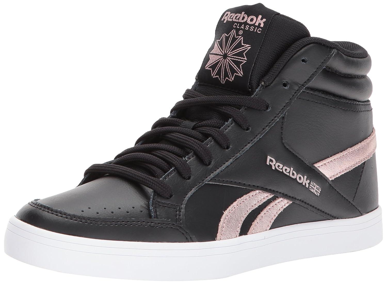 Reebok Women's Royal Aspire 2 Fashion Sneaker B06ZY8H8KX 8 B(M) US|Us-black/Rose Gold/White