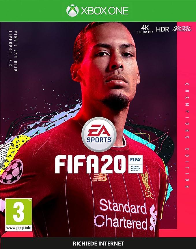 FIFA 20 - Champions - Xbox One [Importación italiana]: Amazon.es: Videojuegos