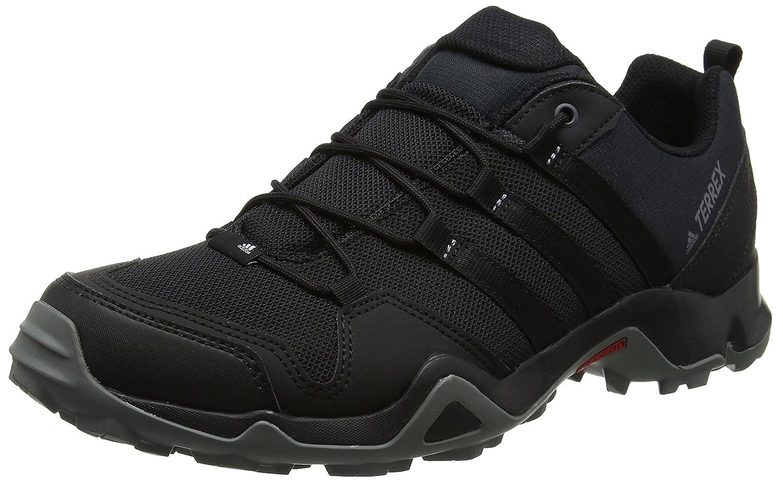 Adidas Terrex Ax2r, Zapatillas de Senderismo para Hombre 42 2/3 EU|Negro (Negbas/Negbas/Grivis 000)