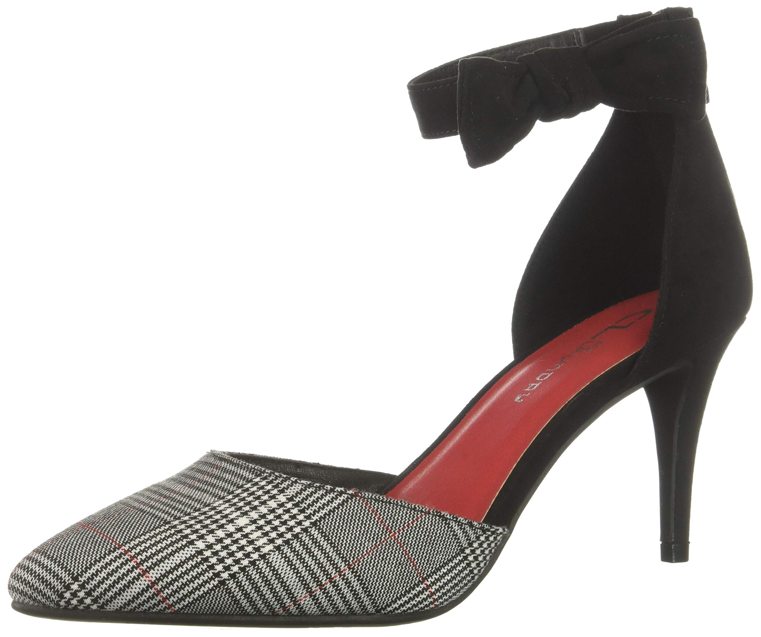 CL by Chinese Laundry Women's Outgoing Pump, Black Plaid, 9 M US