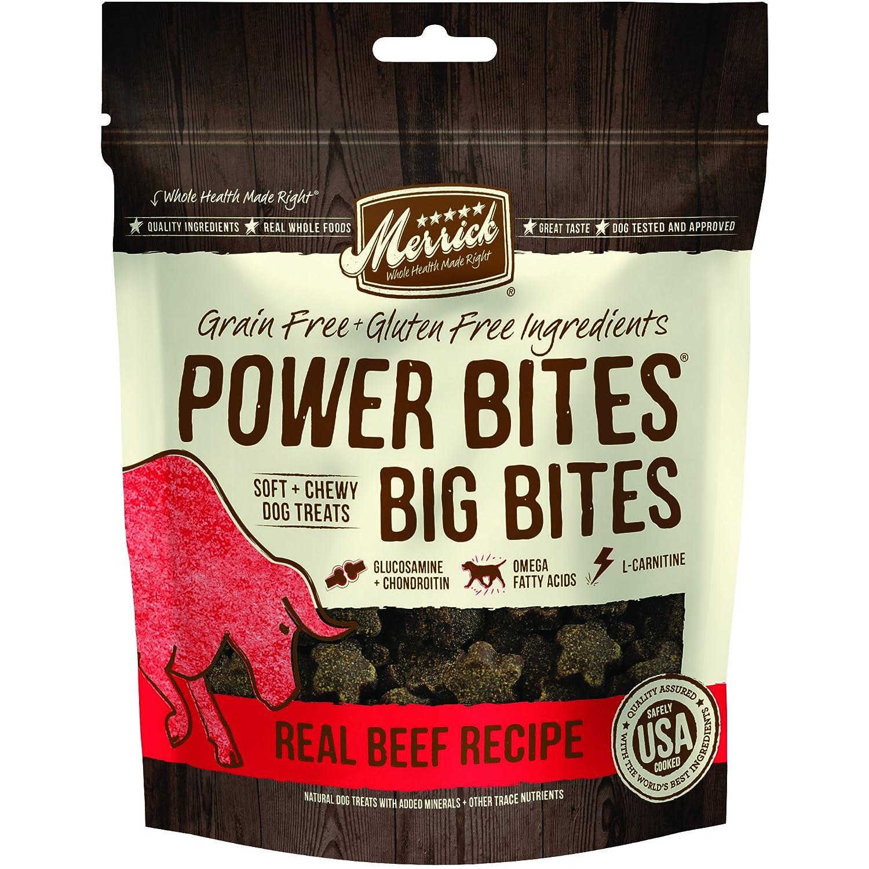 Merrick Power Bites- Big Bites Dog Treats