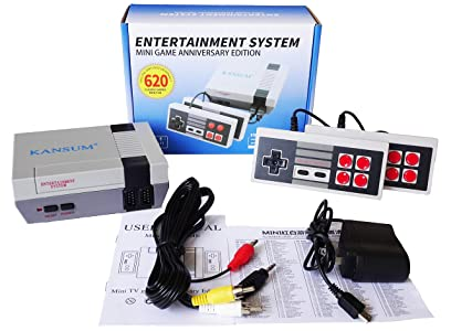 Classic Retro Family Game Console - with 620 Games ,Consoles Video Games, Built in 600 Video Games Consoles, (AV Out...