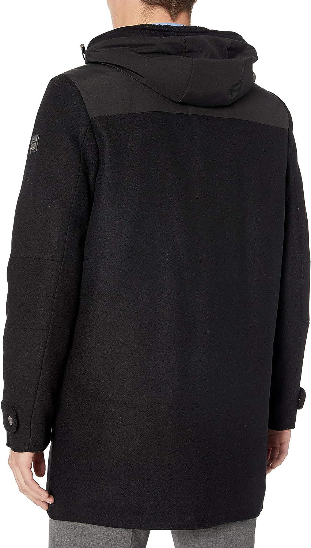 Kenneth Cole Mens Hooded Parka Jacket