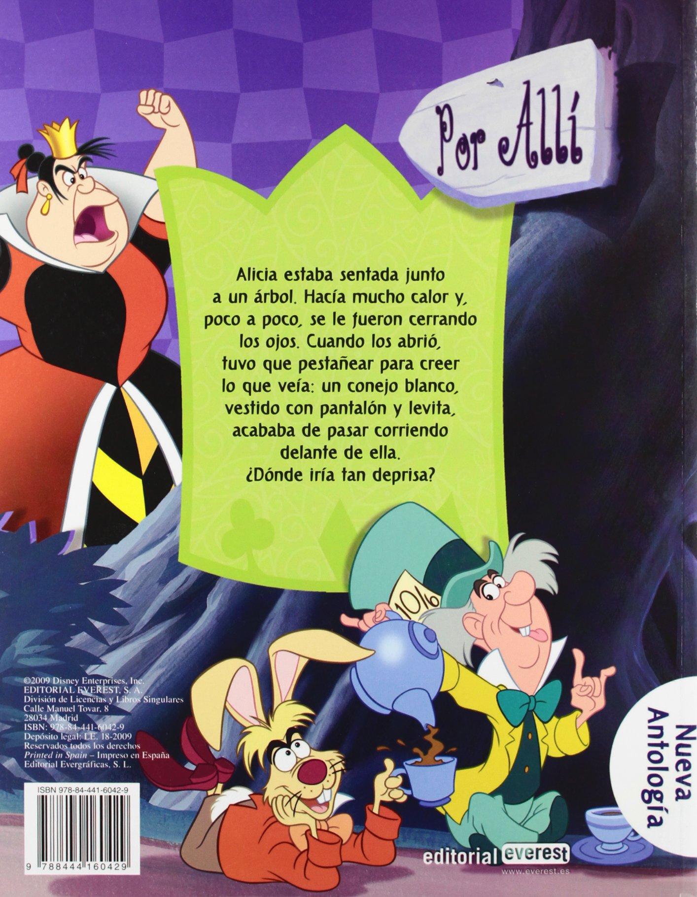 Alicia en el País de las Maravillas Nueva antología Disney: Amazon.es: Walt Disney Company, Walt Disney Company, Walt Disney Company: Libros