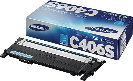 Samsung Electronics CLT-C406S Toner Cyan