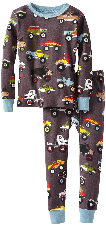44597155b506 Amazon.com  Hatley Little Boys  Pajama Set-Monster Trucks