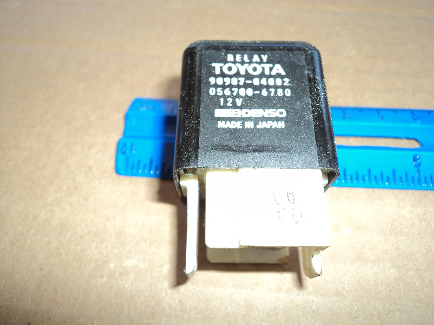Toyota Denso Relay 90987-04002 DRL Ignition Radiator Cooling Fan Window Blower
