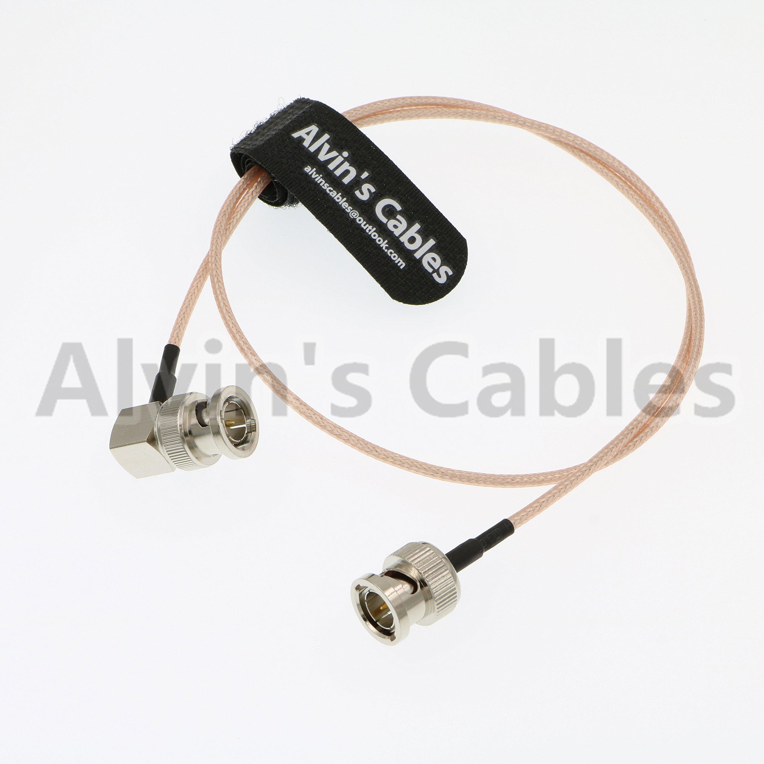 Blackmagic RG179 Coax BNC Right Angle Male to Male Cable for BMCC Video Camera