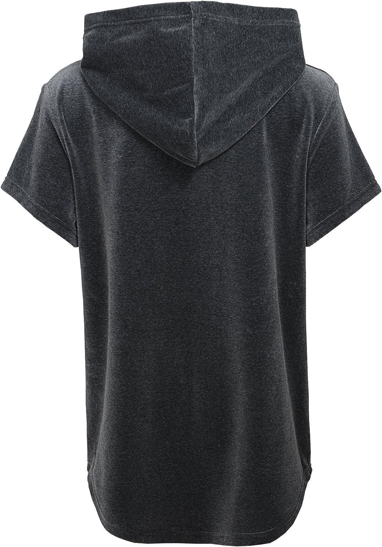 Outerstuff Girls Big Certified Short Sleeve Hooded Top