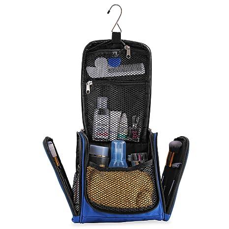 ac7e813ecfb5 Beauty Case da Viaggio Impermeabile Uomo Donna - Trousse Make-Up XL  Appendibile - Borsa