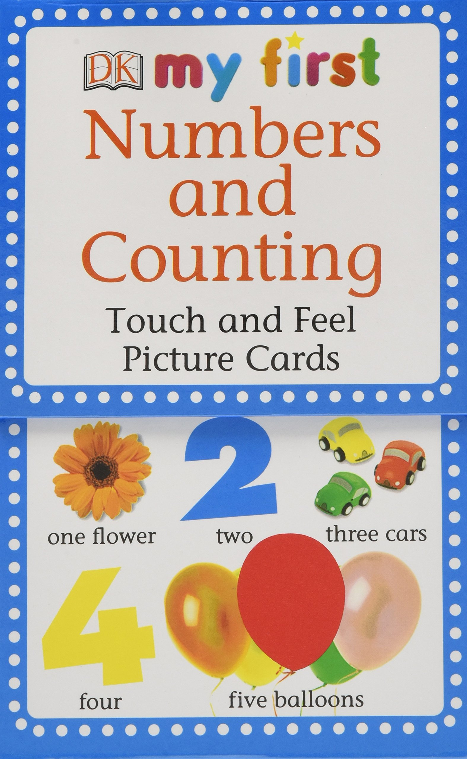 My First Touch  &  Feel Picture Cards: Numbers  &  Counting (MY 1ST T&F PICTURE CARDS) by Brand: DK Preschool