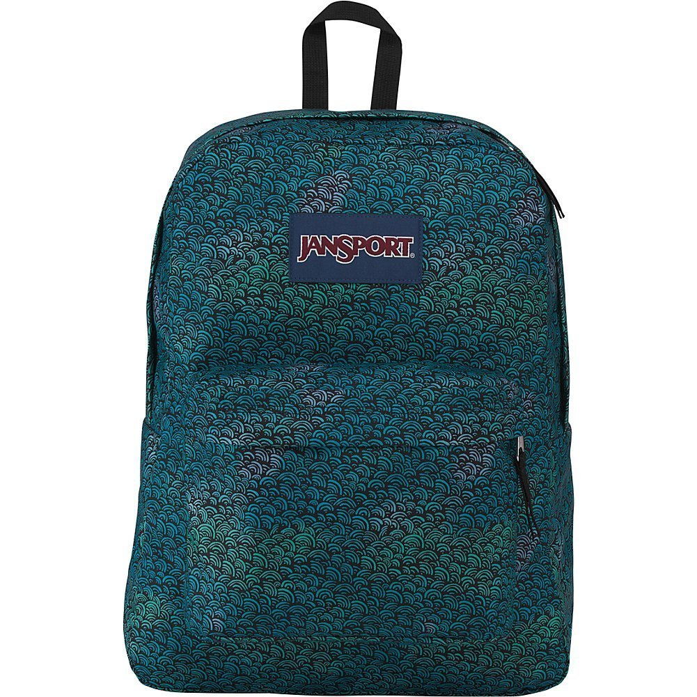 JanSport Superbreak Backpack (Wave Fade)