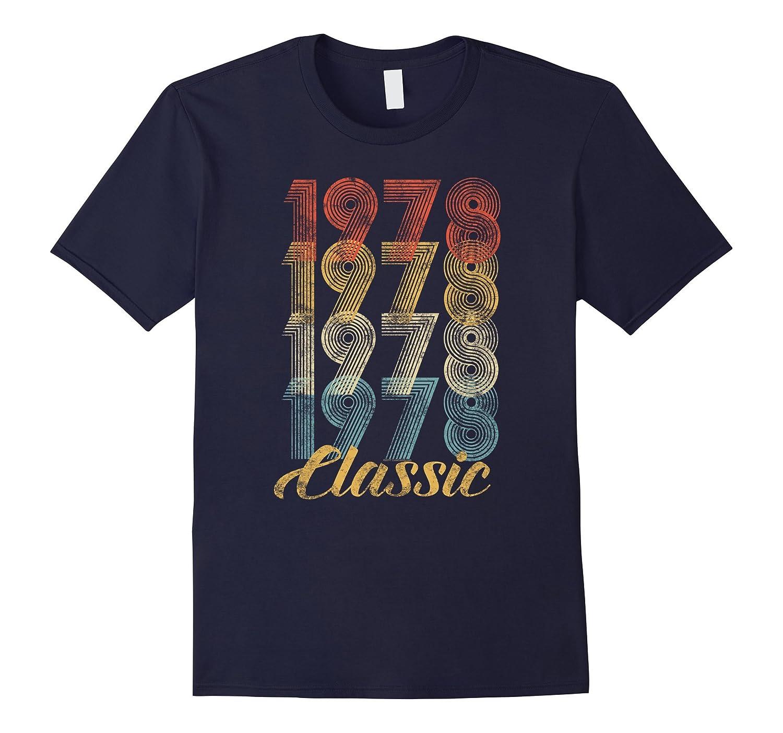 CuteComfy 40th Birthday Gift Vintage 1978 T-Shirt Men Women-ln