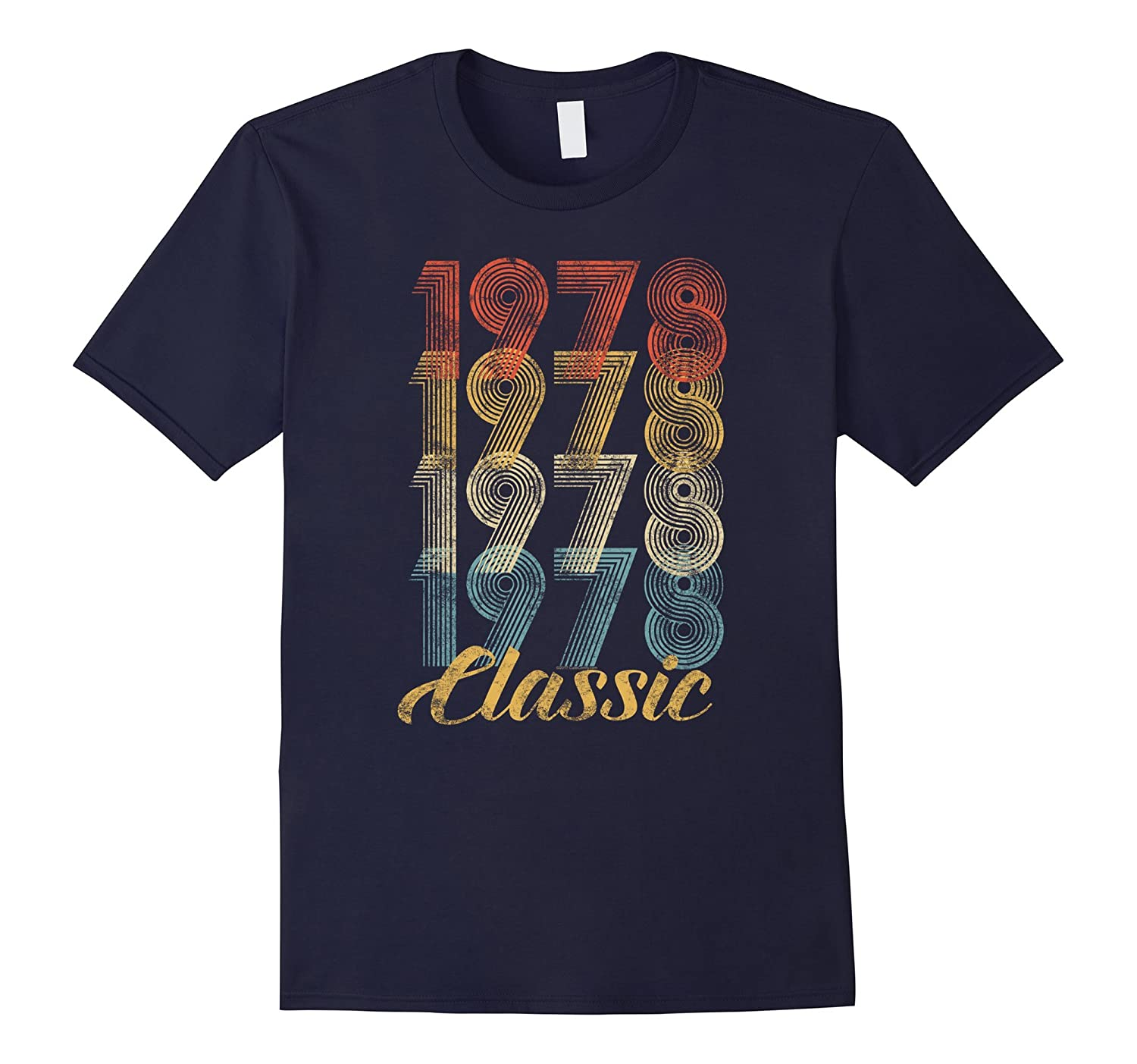 CuteComfy 40th Birthday Gift Vintage 1978 T-Shirt Men Women-ANZ