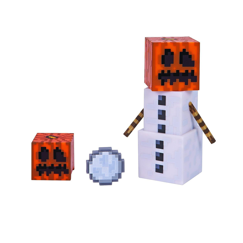 Minecraft 16479 - Figurine avec Accessoires - Snow Golem Jazwares