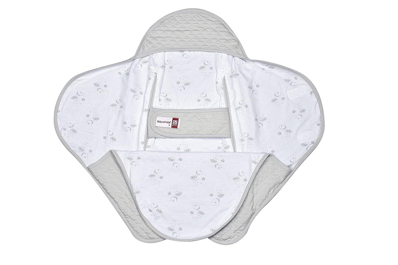 color gris Cobertura envolvente para bebe Red Castle Babynomade fleur de coton