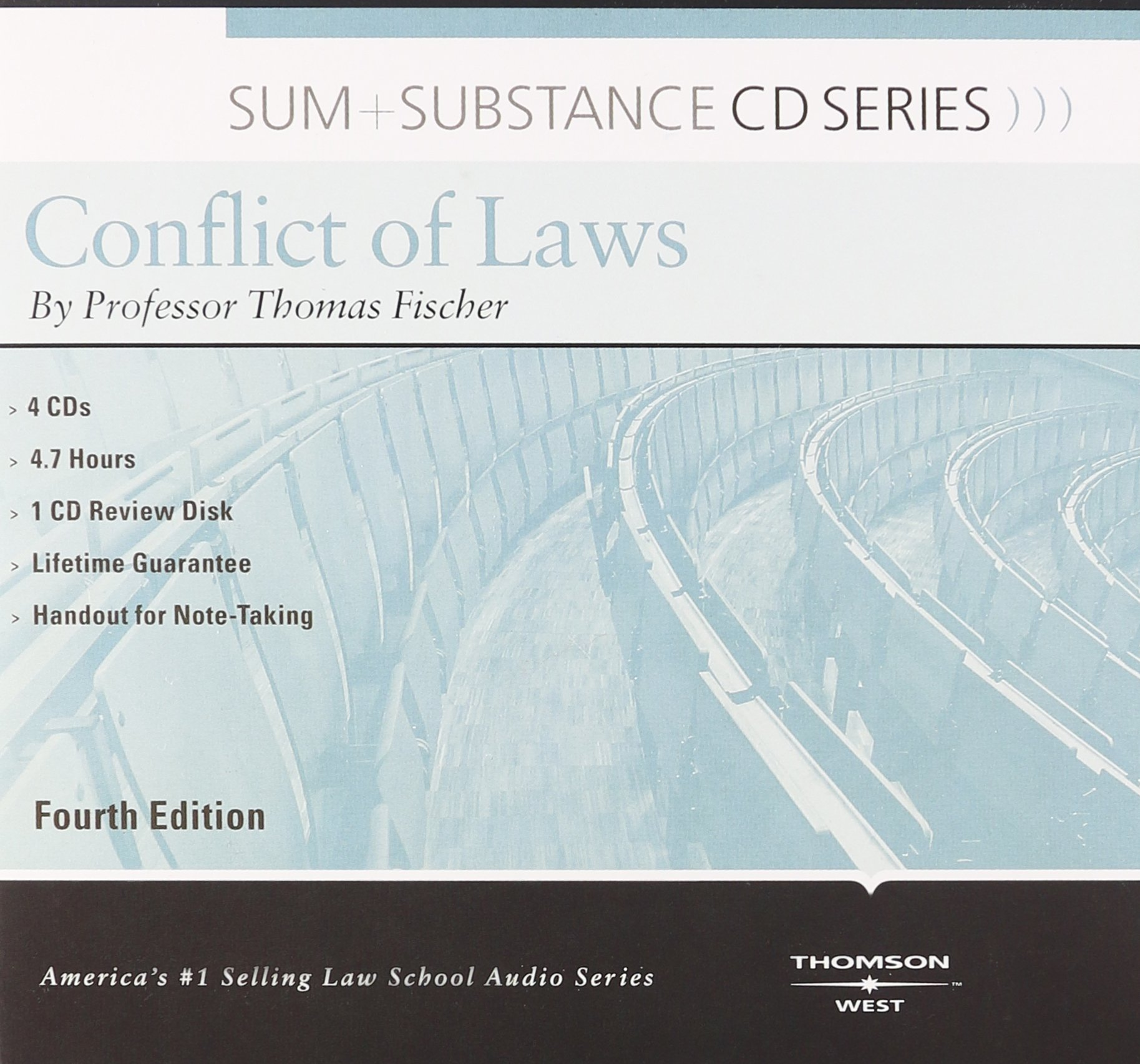 Sum and Substance Audio on Conflict of Laws by West Academic Publishing