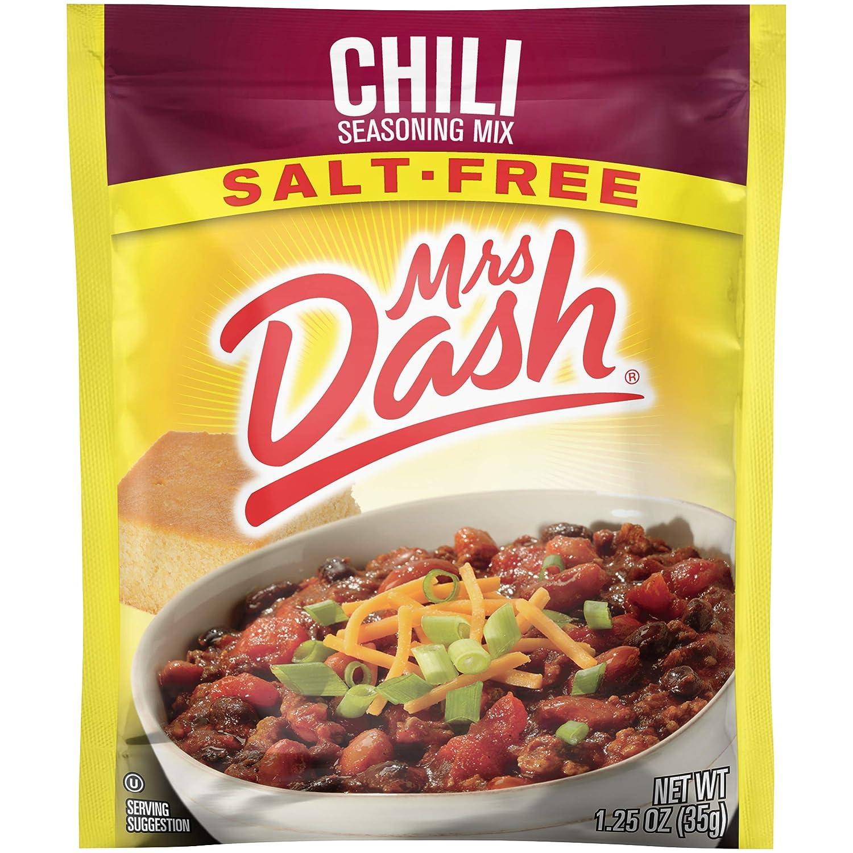 Mrs. Dash, Seasoning Mix, Chili, 1.25 Ounce