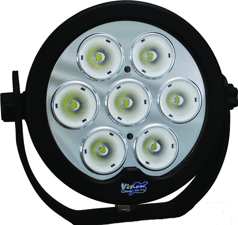 Black 2 Light Kit Emark Approved Vision X Lighting XIL-OPRH115KIT 10W LED 15 Degree Narrow Optimus Round Halo 1