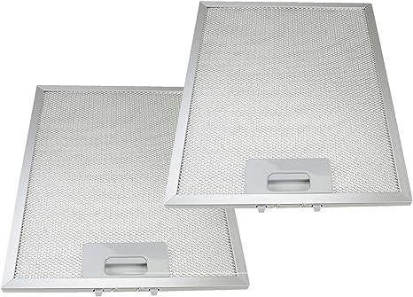 Qualtex filtro de grasa de malla de Metal rejilla de ventilación para Baumatic Campanas Extractoras (HSS, – 300 x 240 mm (Pack de 2): Amazon.es: Grandes electrodomésticos