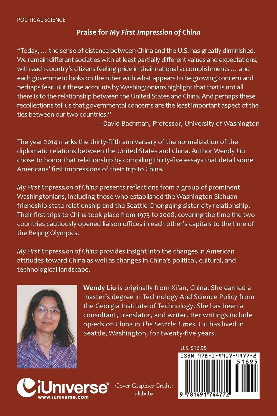 my first impression of washingtonians first trips to the my first impression of washingtonians first trips to the middle kingdom wendy liu 9781491744772 com books