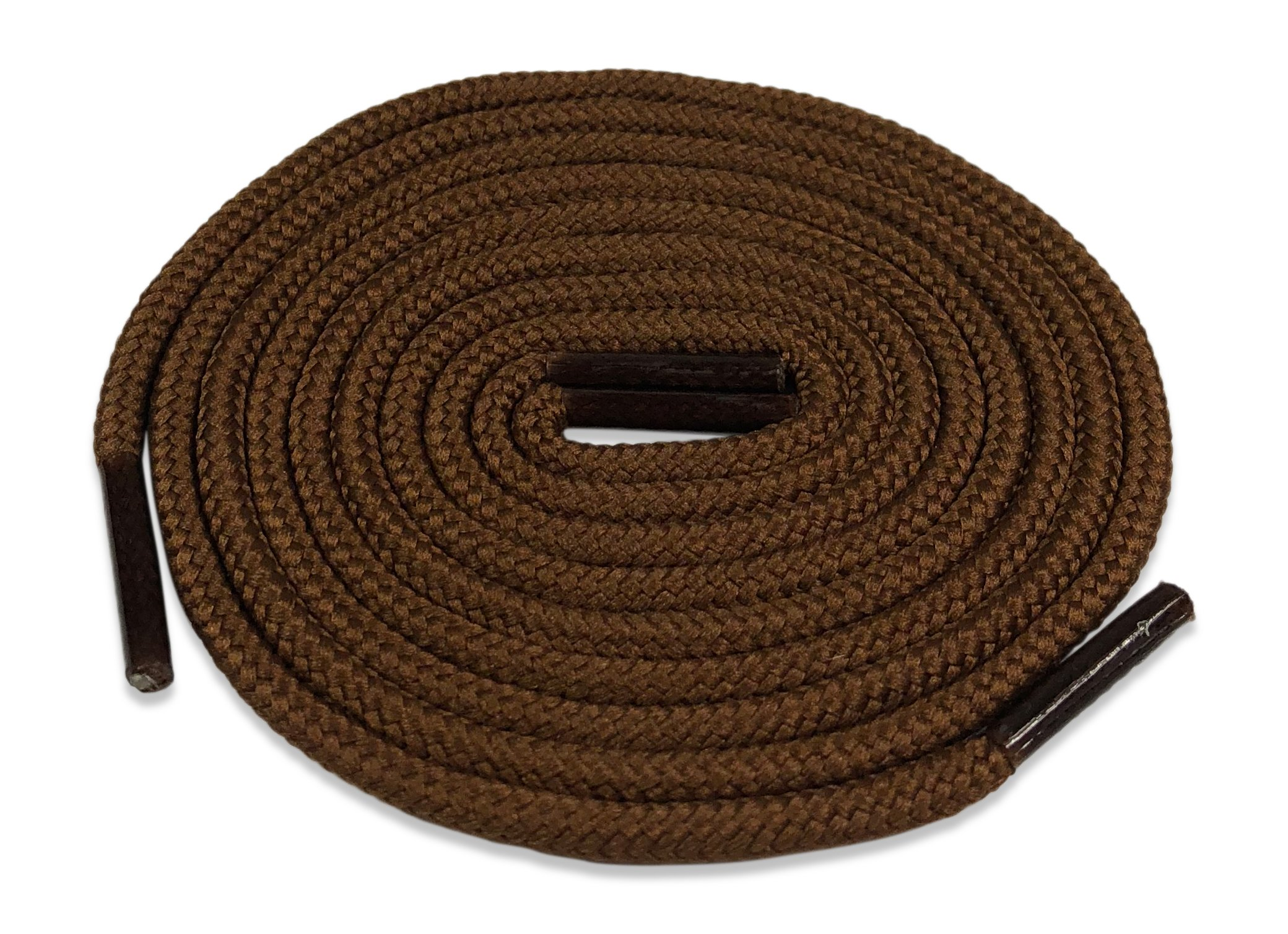 Fintoco Heavy Duty Boot Laces - 39 Inches Brown Shoelaces