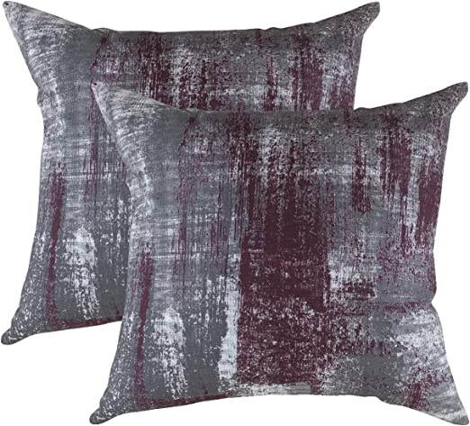 Amazon.com: TreeWool, Pack of 2, Throw Pillow Cover Brush Art