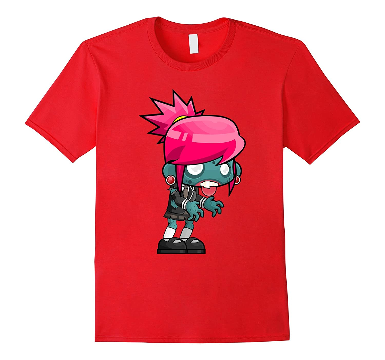 Zombie Girl Women Ladies Mens Boys Tee Shirt T-Shirt-TH